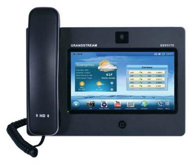 Điện thoại IP Video HD Grandstream GXV3175 đại diện cho tương lai điện thoại IP trong truyền thông đa phương tiện dành cho cá nhân. Chất lượng video tuyệt vời, giao diện người dùng hấp dẫn với các chi tiết thú vị, các ứng dụng web phong phú thể hiện trong một thiết kế kiểu dáng đẹp như máy tính bảng